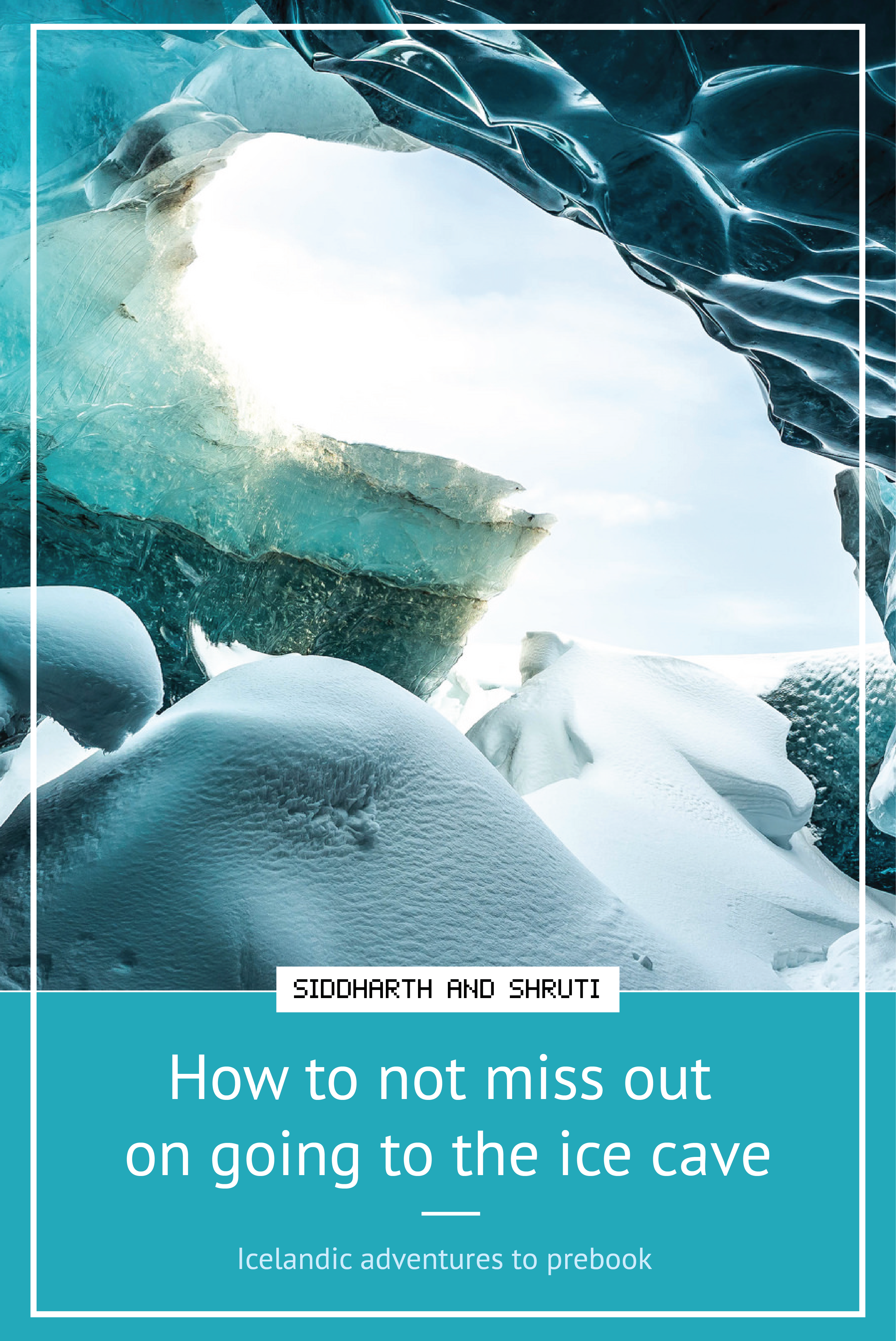 If you want to go see the ice cave or go on a glacier walk you need to book them in advance. Here's how to not miss out coz they get booked real quick. | Siddharth and Shruti