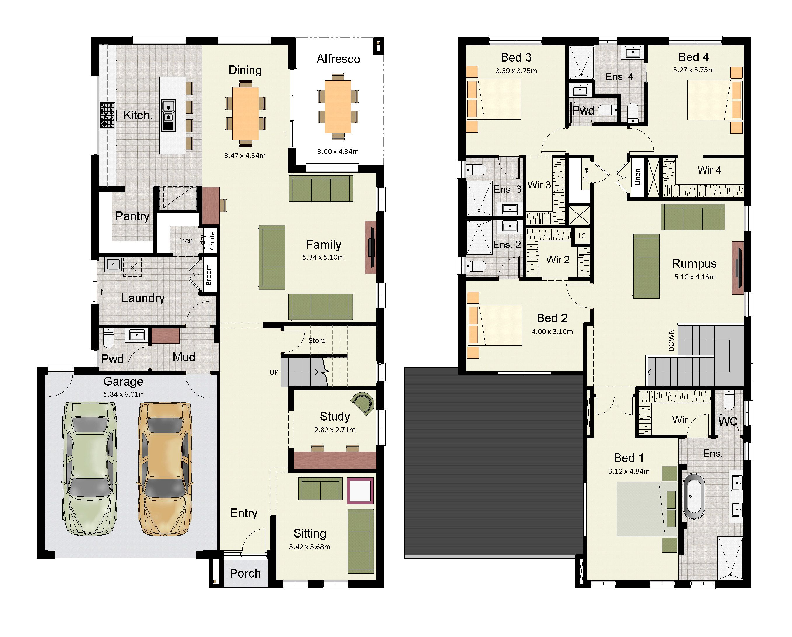 The Amora 348 is a luxurious home with an ensuite and and walk-in ...