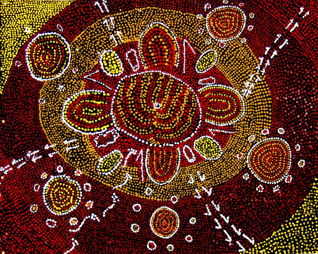 Aboriginal Art Dreamtime Gallery - page 2 of 2 - stories and ...