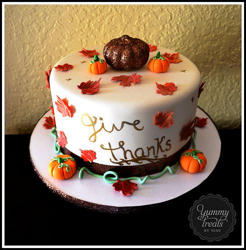 Thanksgiving recipes cakes
