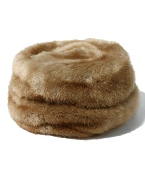 8f89c13bc0e80 Women Hats · Fake Fur · ROSE BUD(ローズバッド)の(GREVI SIONA FIRENZE) 7827 T329  FAKE