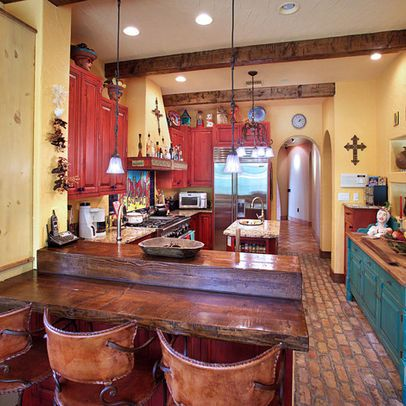 Mexican Kitchen Design Ideas, Pictures, Remodel, And Decor   Page 2