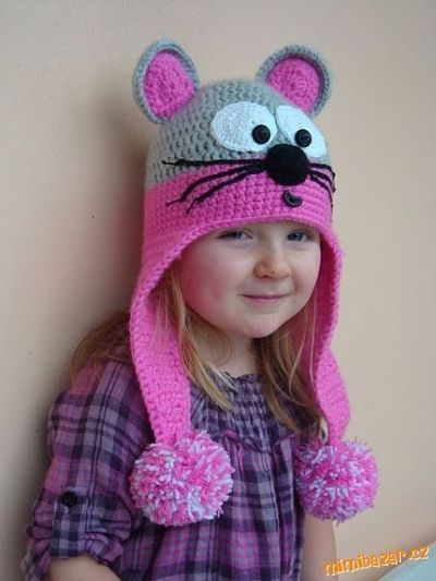 Crochet Animal Hat Patterns Free Crochet Cat Hat Pattern