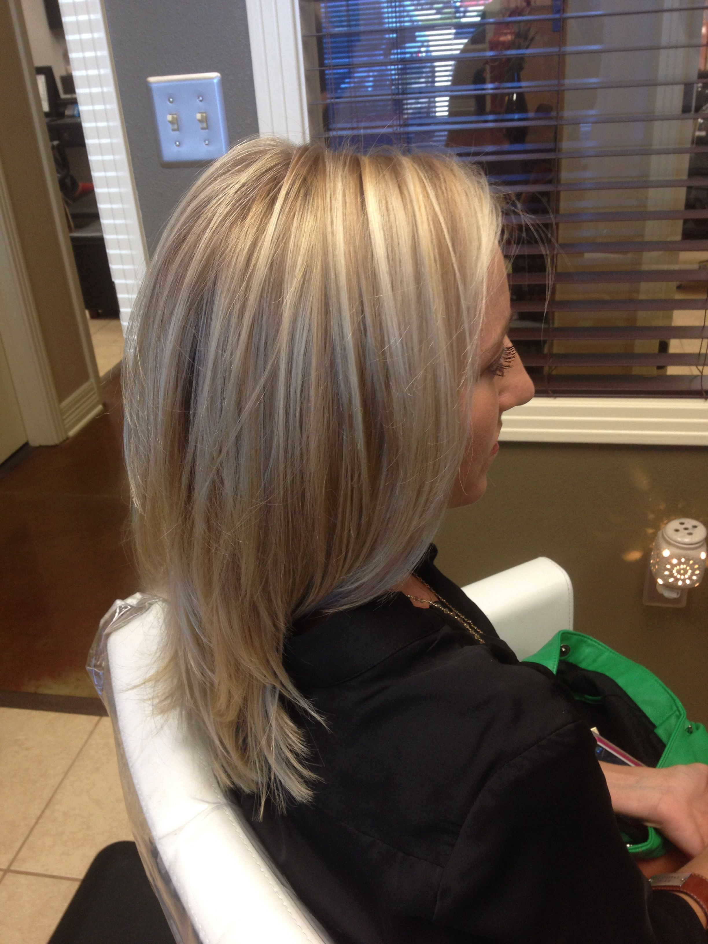 Paul Mitchell Color 3 Tone Blonde Hair Styles Blonde Hair