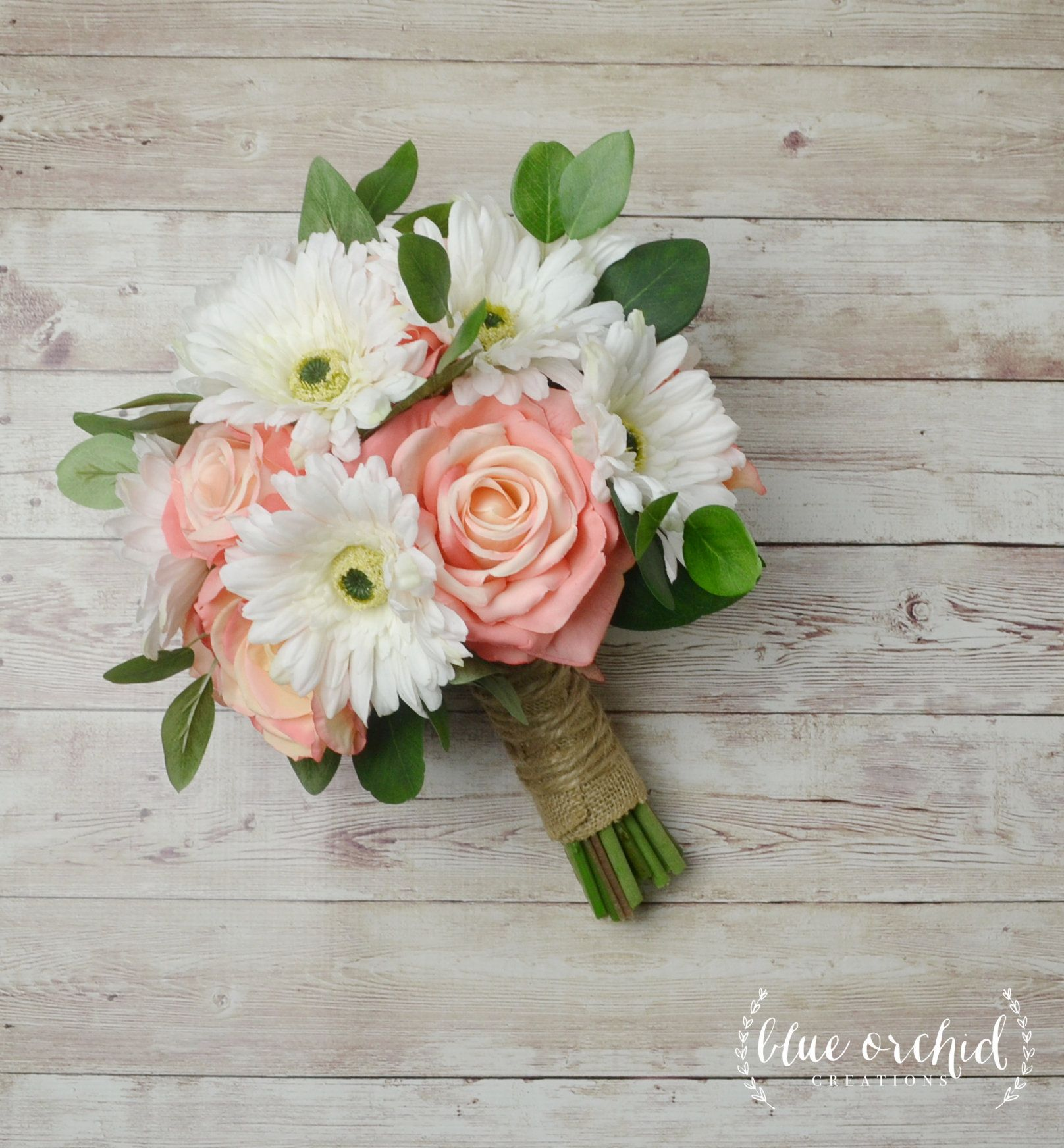 Wedding Bouquet Bridal Bouquet Peach Bouquet Wedding Flowers