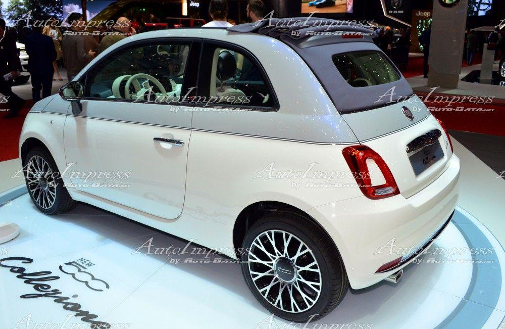 Fiat 500 Collezione At Geneva Motor Show 2018 Fiat New Fiat500