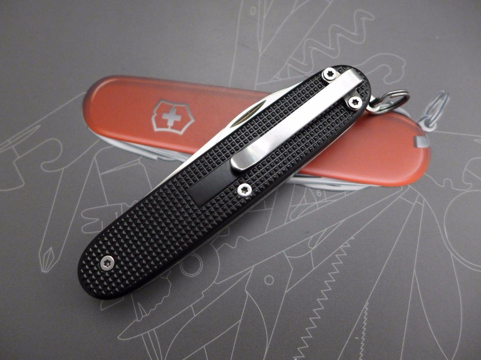 Custom Victorinox Pioneer X Voyageur Compact Pocket Clip