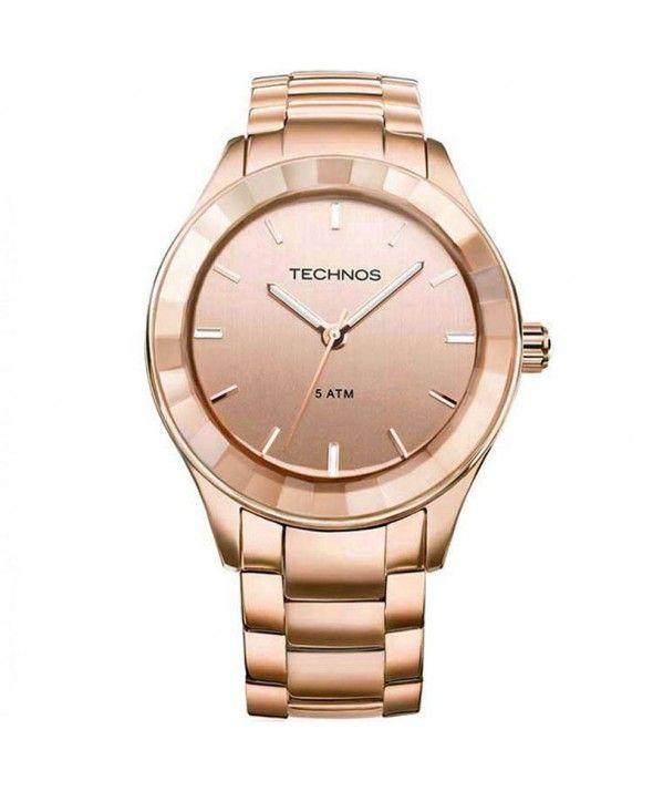 41e15c5f6fe1a Relógio Technos Feminino Elegance St. Moritz 6P29RA 4T   WATCHES ...