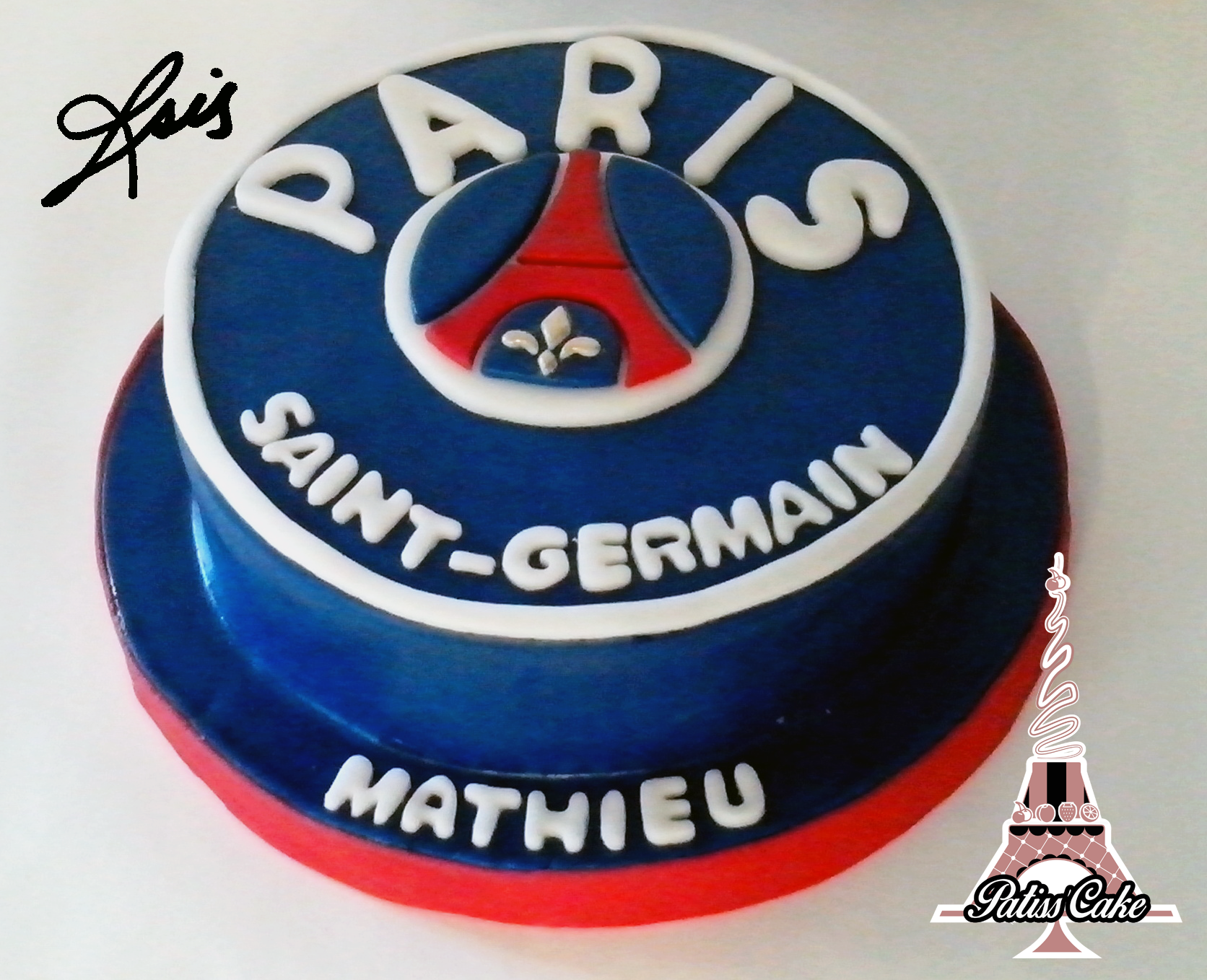 Decoration gateau psg - Decoration football pour anniversaire ...
