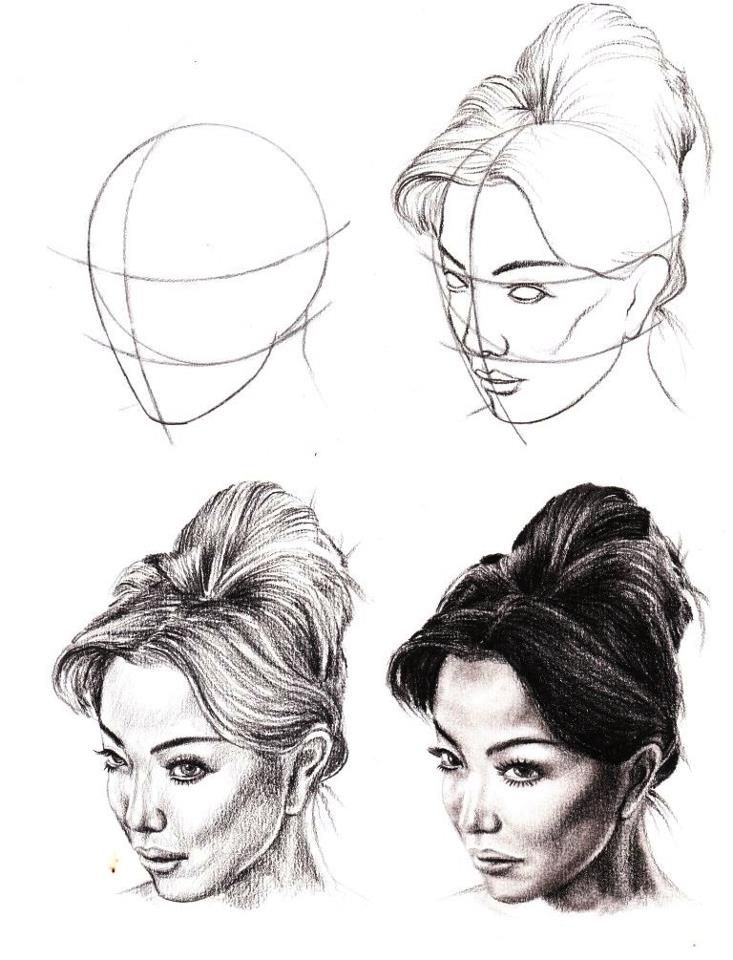 Pencil drawing how to