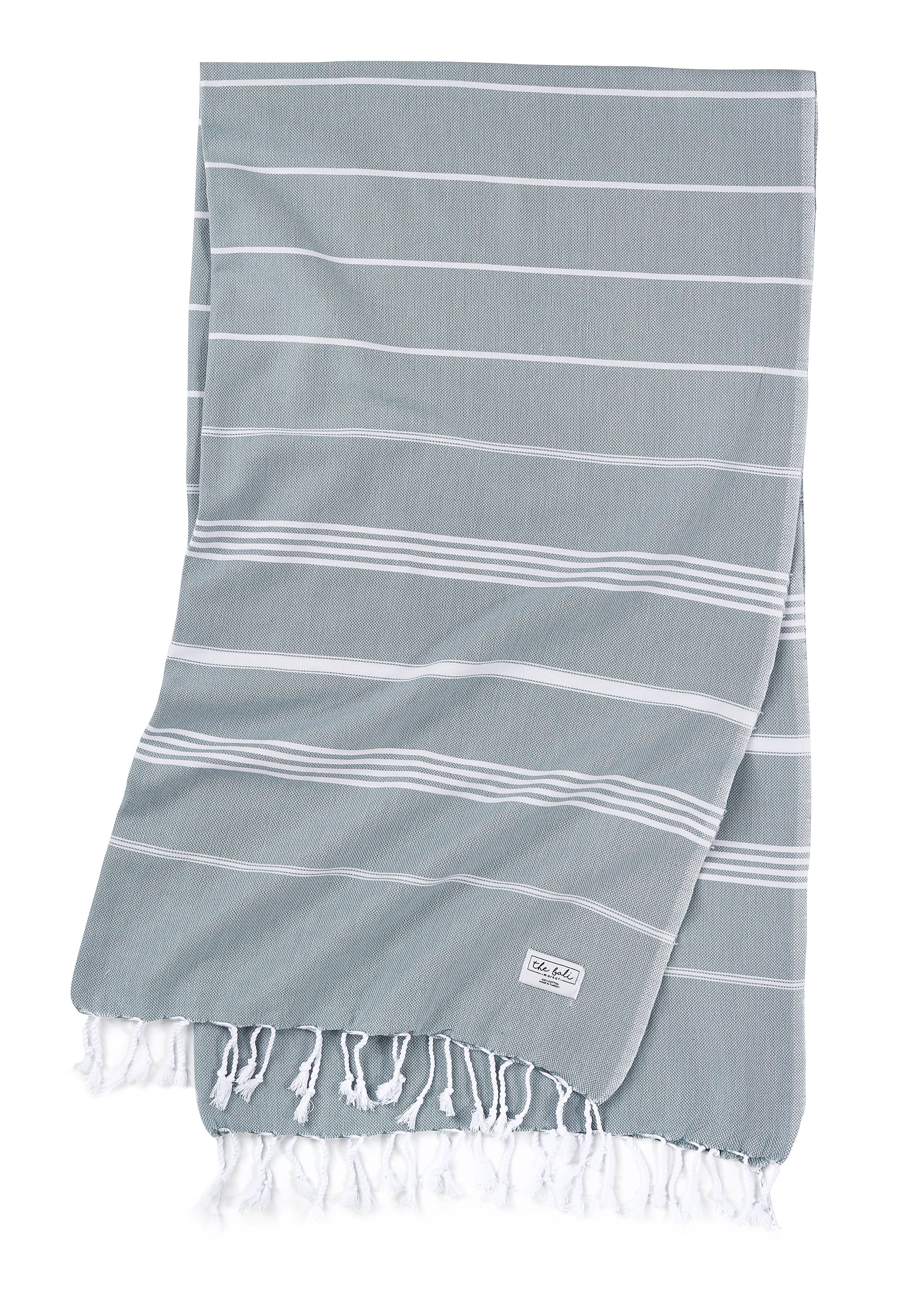 Perfect Classic Green Turkish Towels Towel Oversized Beach