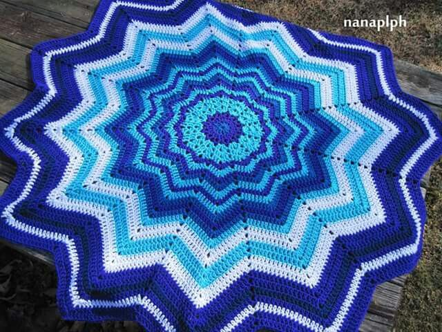 12 Point Star Blanket More Wonderful Crocheting