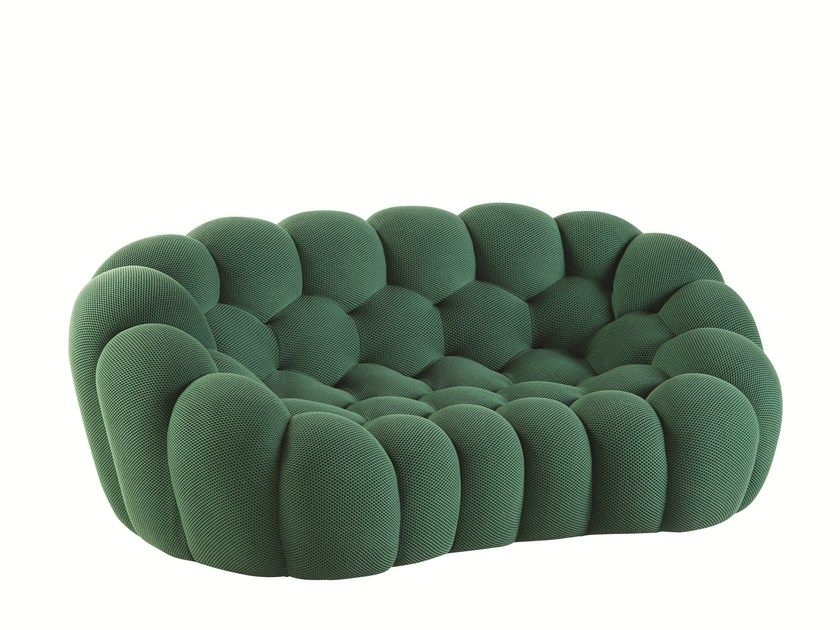 Download The Catalogue And Request Prices Of Bubble 2 Seater Sofa By Roche Bobois Fabric Sofa Design Fabric Sofa Design Modern Sofa Living Room Fabric Sofa