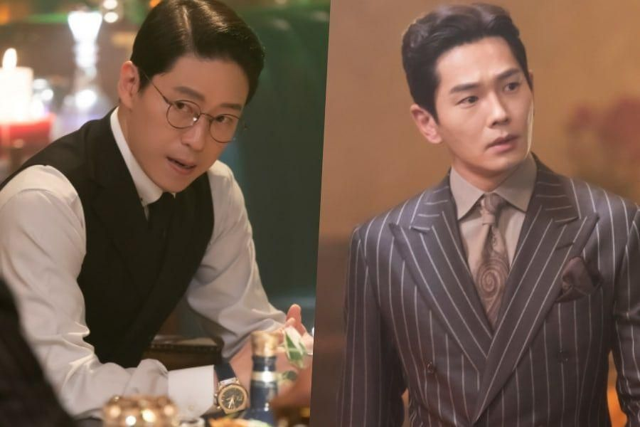 "Uhm Ki Joon Grows Tense With On Joo Wan's Appearance In ""The Penthouse 3"""