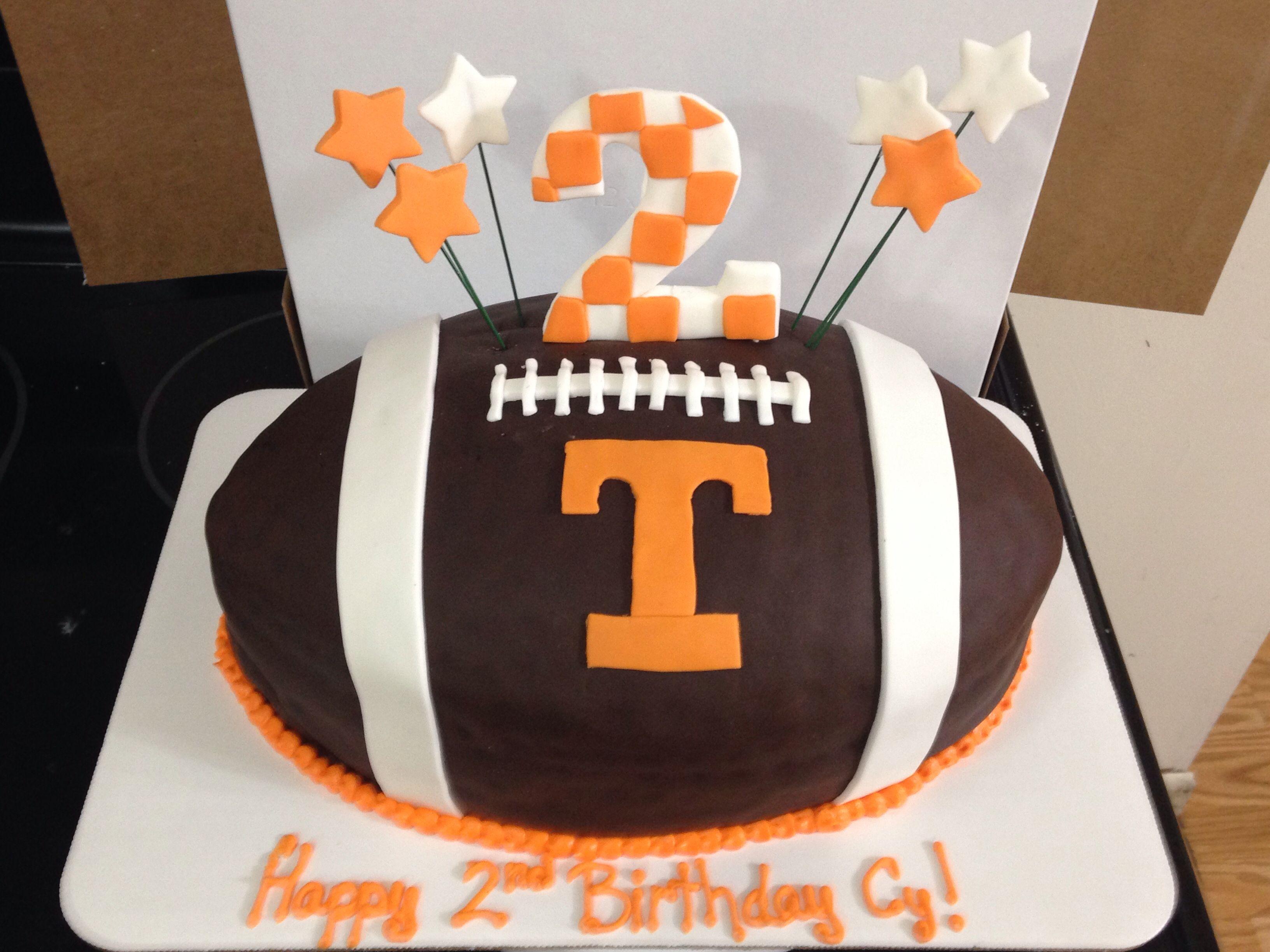 Tennessee Vols Football Cake Our Custom Cakes Pinterest Cake