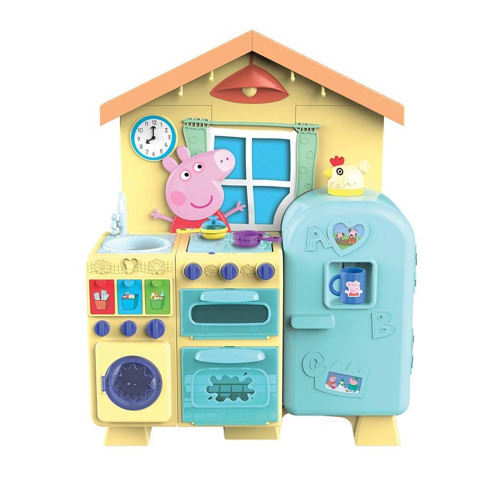 Cocina De Peppa Pig | Cocinita Peppa Pig Dolls Peppa Pig House Peppa Pig Kitchen