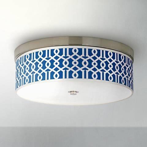 Chain reaction giclee energy efficient ceiling light h8796 2r490 lamps plus