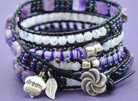 beadshop.com | 2 Stitch Wrap Bracelet