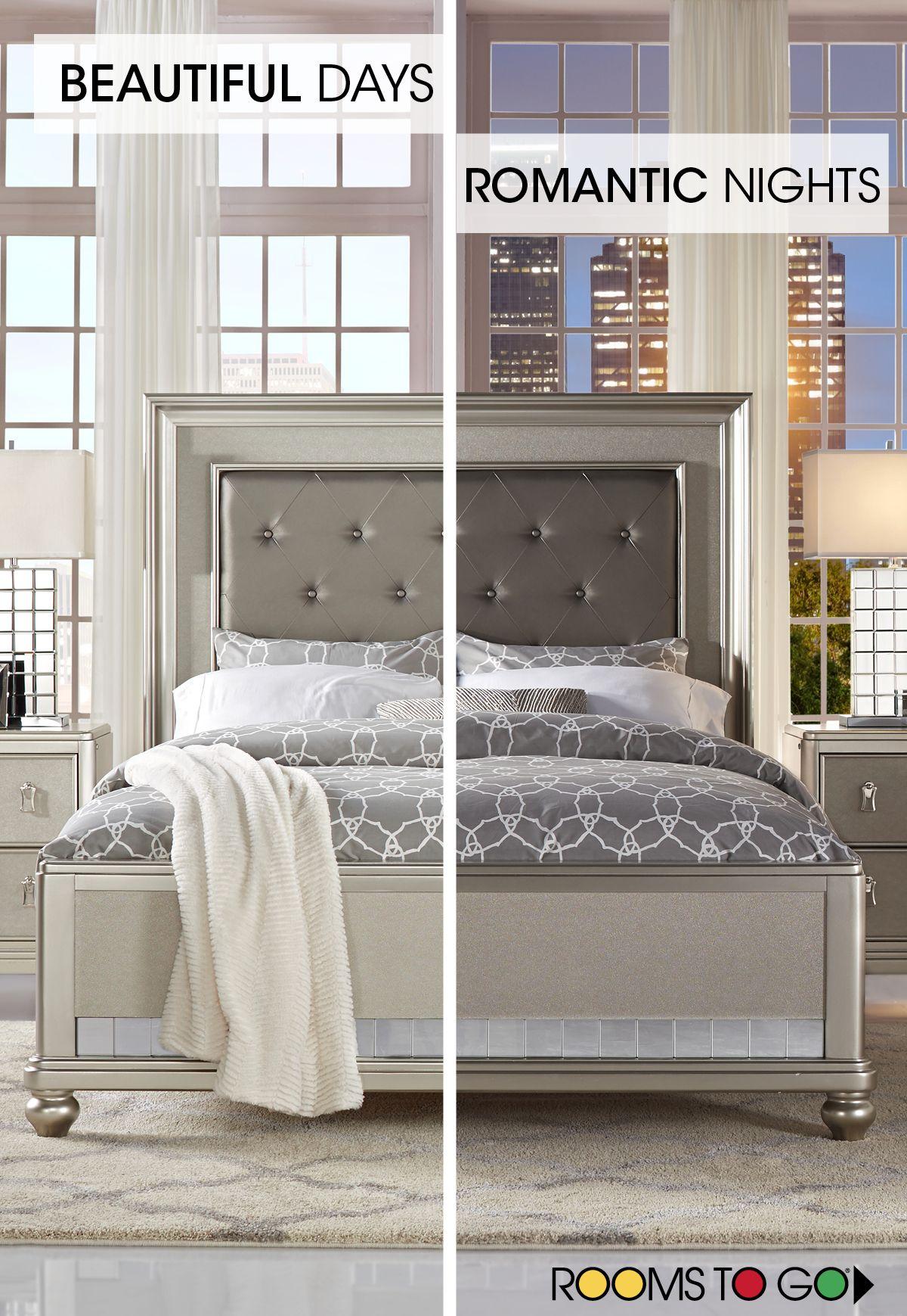 Sofia Vergara Paris Silver 5 Pc Queen Bedroom Bedroom Sets Queen