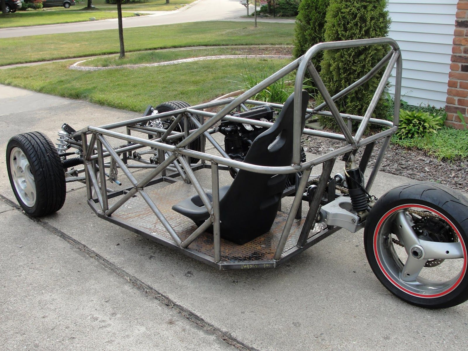my reverse trike build log reverse trike projects reverse trike tricycle cars. Black Bedroom Furniture Sets. Home Design Ideas