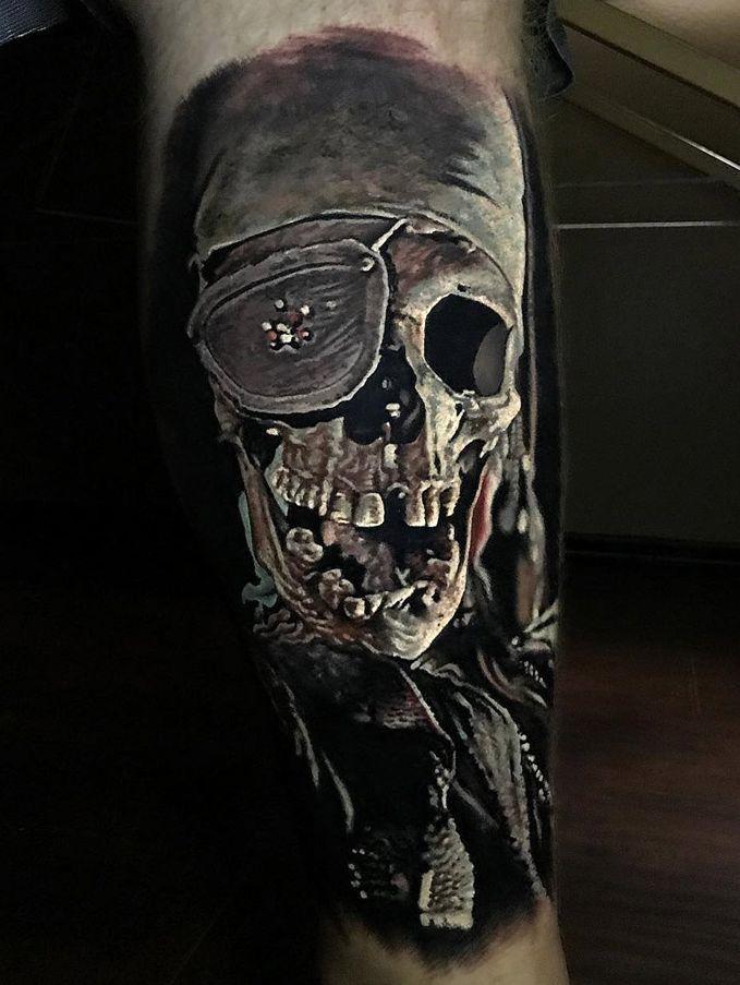Pirate Skull Design Pirate Skull Tattoos Skull Tattoos Pirate Tattoo