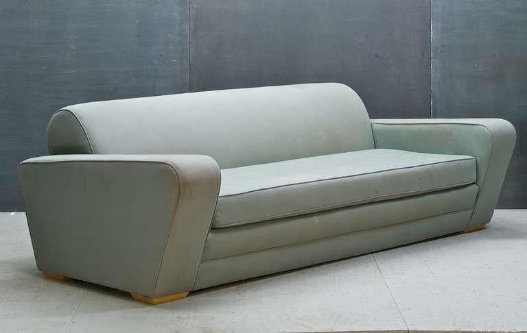 Moderne Sofa 1930s frankl speed sofa deco moderne machine age streamline