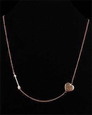 Melinda Maria 'Heart & Arrow' Necklace
