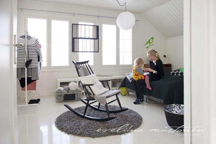 low white furniture