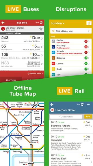 citymapper the ultimate real time public transport app for london manchester birmingham