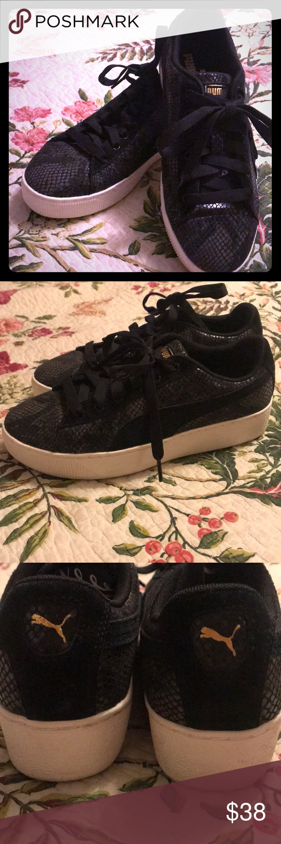 Black Puma sneakers | Puma sneakers