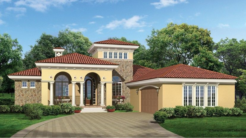 Home plan homepw09356 2191 square foot 3 bedroom 2 for Www homeplans com