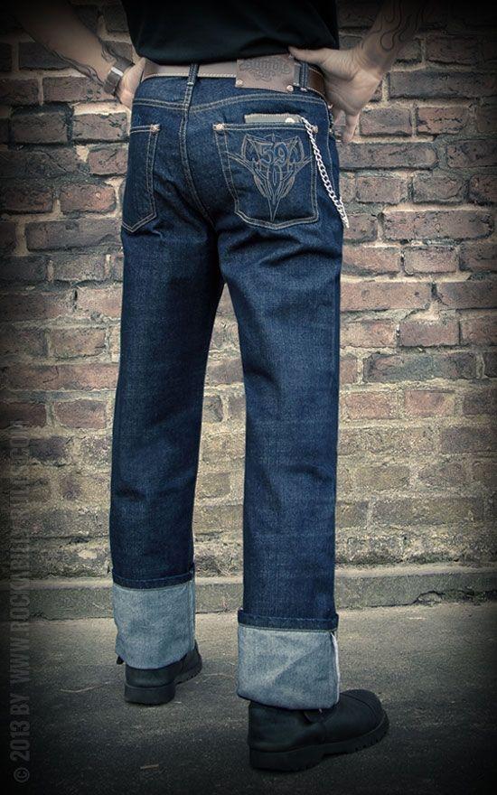 rockabilly jeans