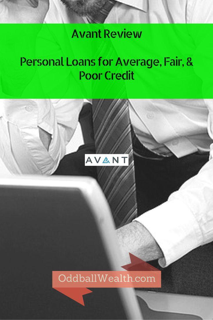Avant Lender Review Online Personal Loans For Poor Credit