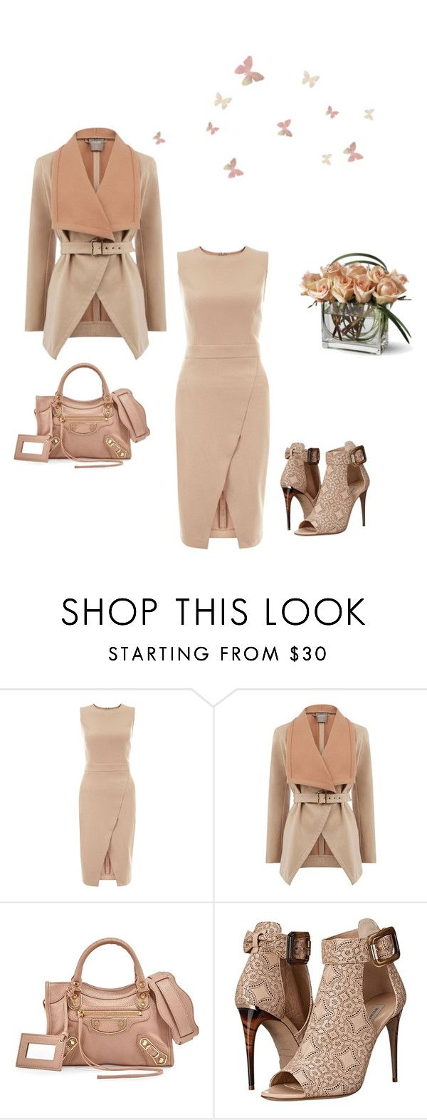 """All In A Sunday Afternoon"" by kimberlydalessandro ❤ liked on Polyvore featuring New Look, Oasis, Balenciaga and Burberry"