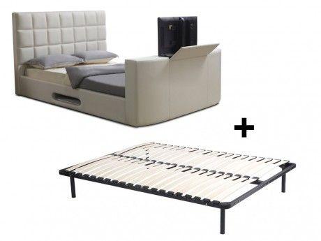 Schlafzimmer Betten Aus Holz Metallbett 140x200 Weiss Weisses