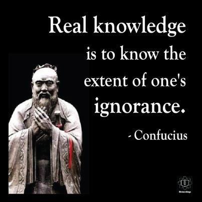 El Conocimiento Real Es Saber El Grado De Nuestra Propia