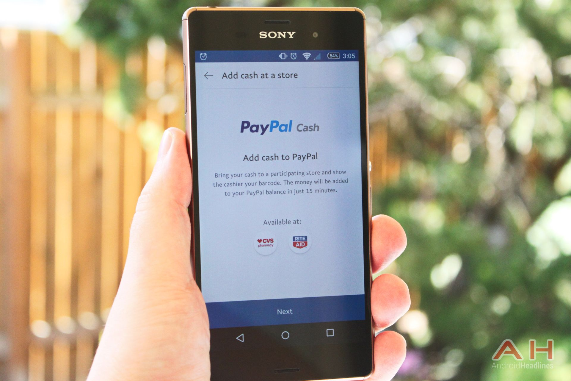 Download paypal gains ability to add cash to balance