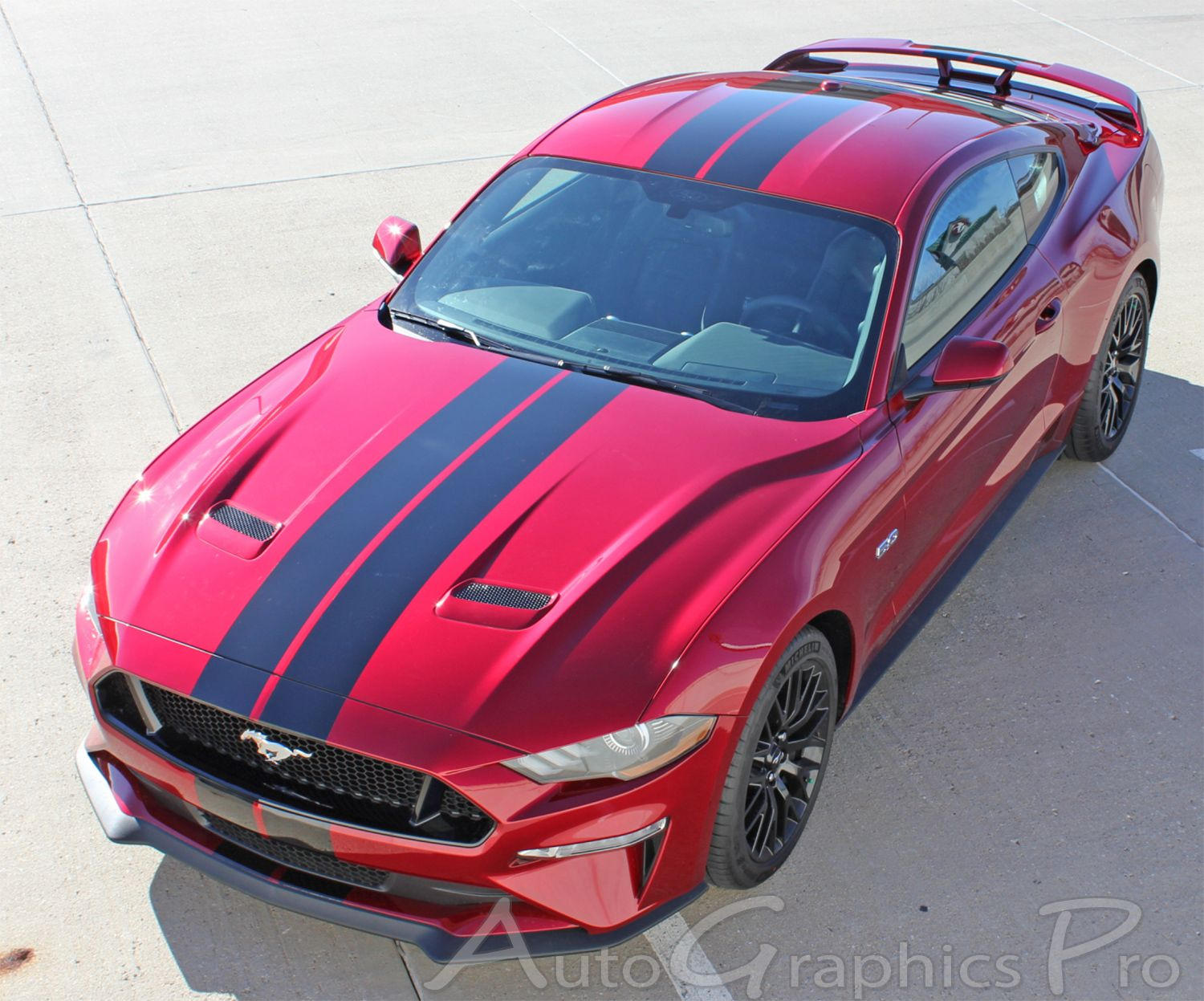 2018 2019 2020 Ford Mustang Racing Stripes Stage Rally