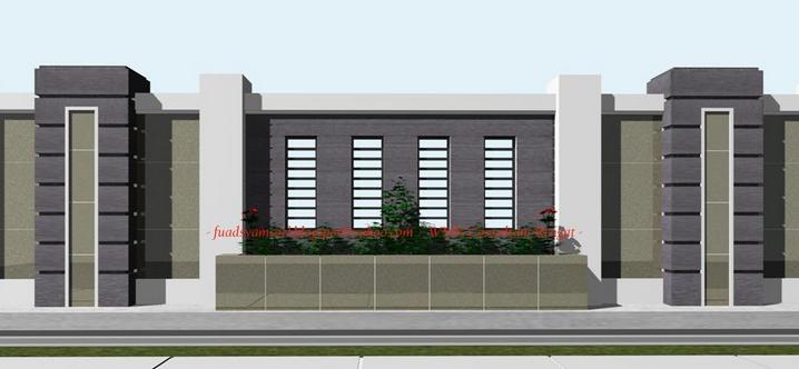 40 Model Pagar Tembok Minimalis - Bicara Tentang Membangun Sebuah Rumah,  Ada Banyak Hal Yang Harus Anda Perhatik… | Minimalis, Desain Produk, Desain  Eksterior Rumah
