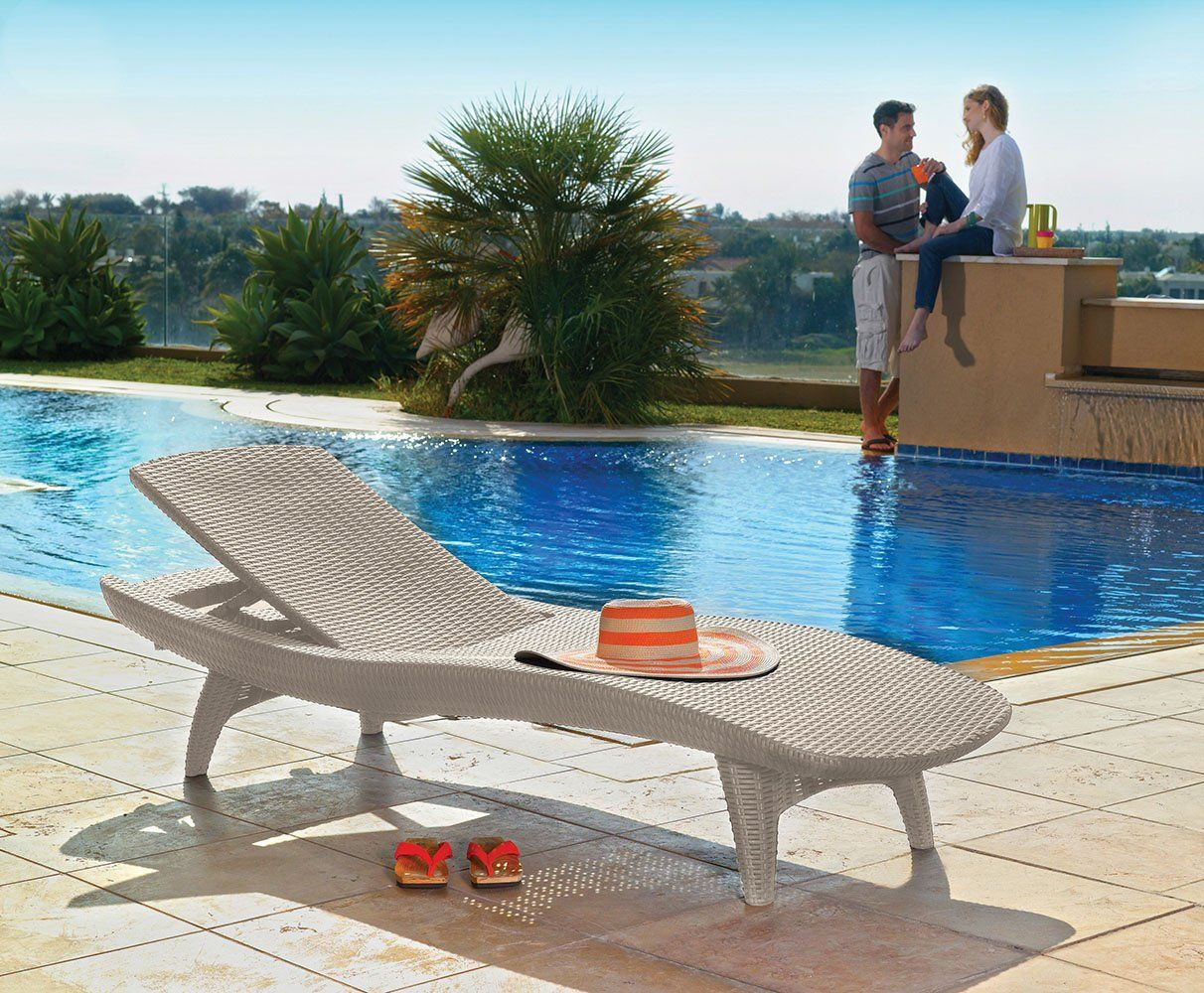 Keter pacific 2pack allweather adjustable outdoor patio
