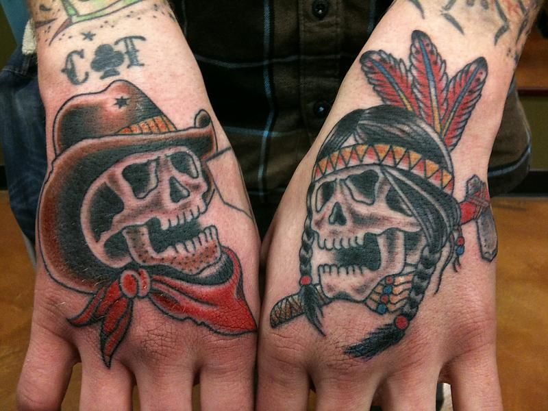 native american skull tattoo - Google-søk | Inked ...