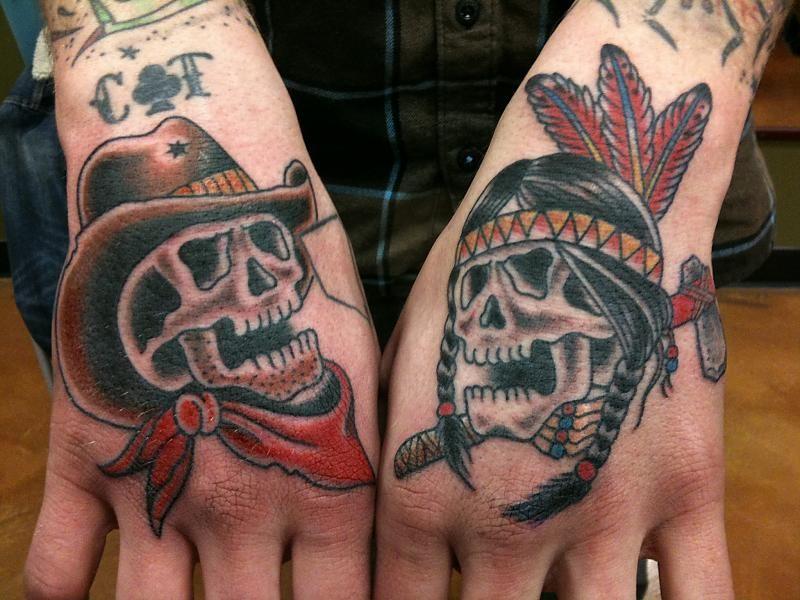 native american skull tattoo - Google-søk | Inked ...
