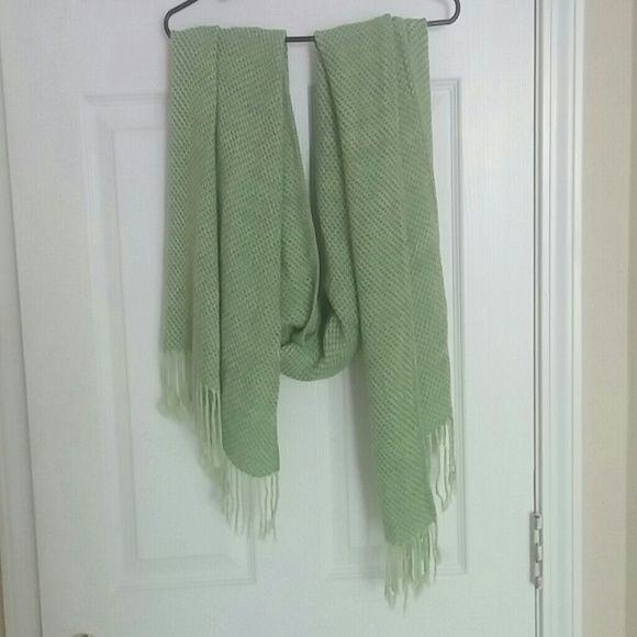 Scarf Cute green spring scarf Accessories Scarves & Wraps
