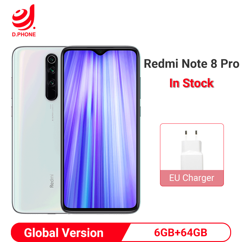 Xiaomi Redmi Note 8 Pro Global Version 6gb 64gb Smartphone 64mp Salesphonesep Com Smartphone Xiaomi 64gb