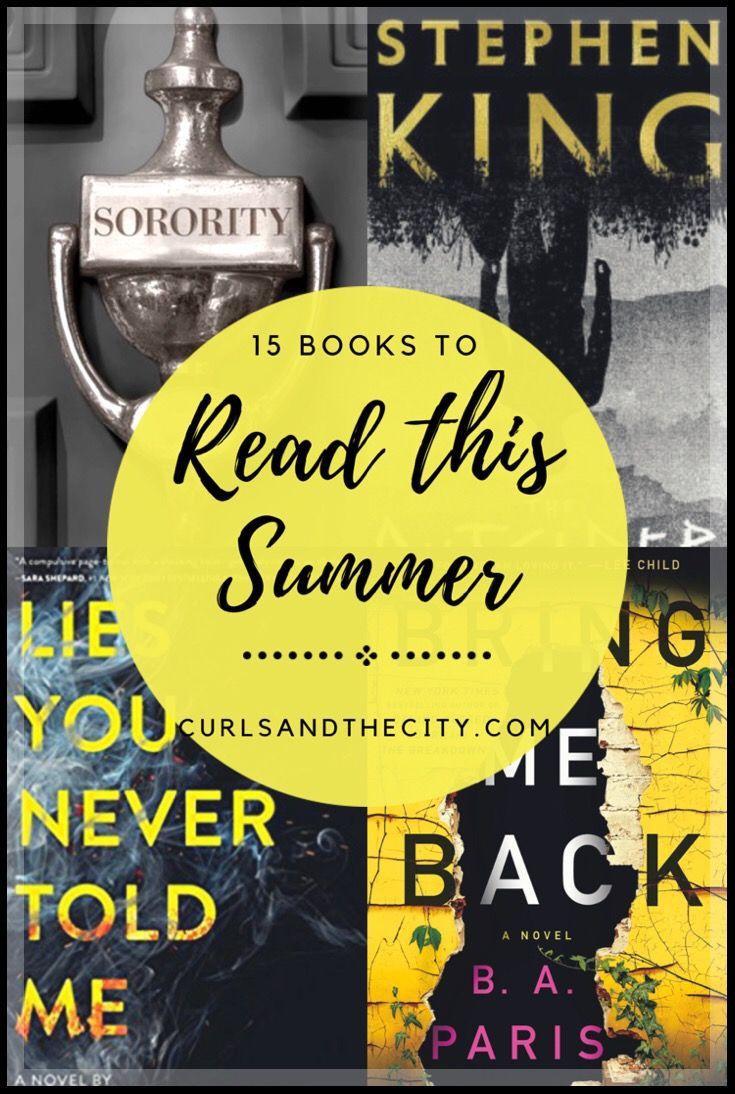 Summer Reading List Summer reading lists, Reading lists