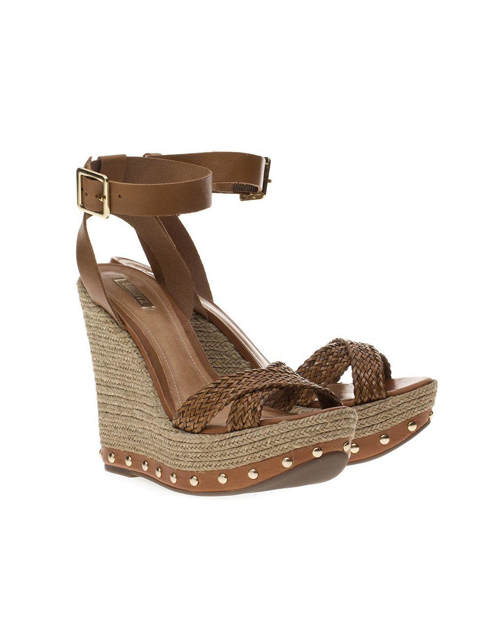 2a19a28d6 Anabela Schutz Atanado | Sandals | Anabela, Looks e Sapatos