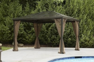 Simply Outdoors Hardtop Gazebo Sears With Images Hardtop
