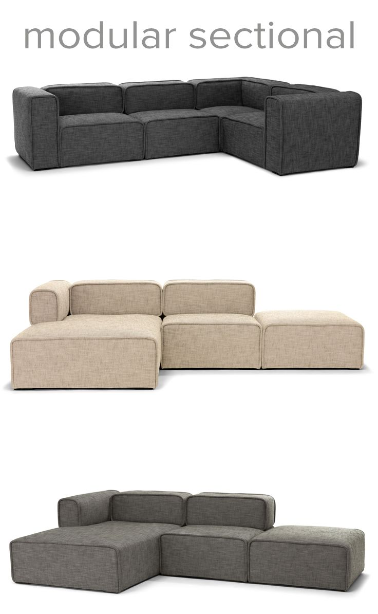 The New Quadra Collection Is A Modular Sectional Available