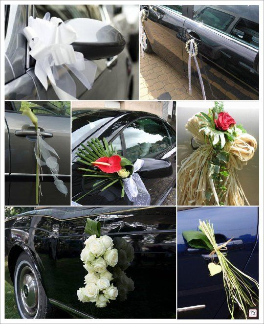 Idee decoration voiture mariage d couvrir mariage pinterest table de mariage decoration - Idee decoration voiture mariage ...