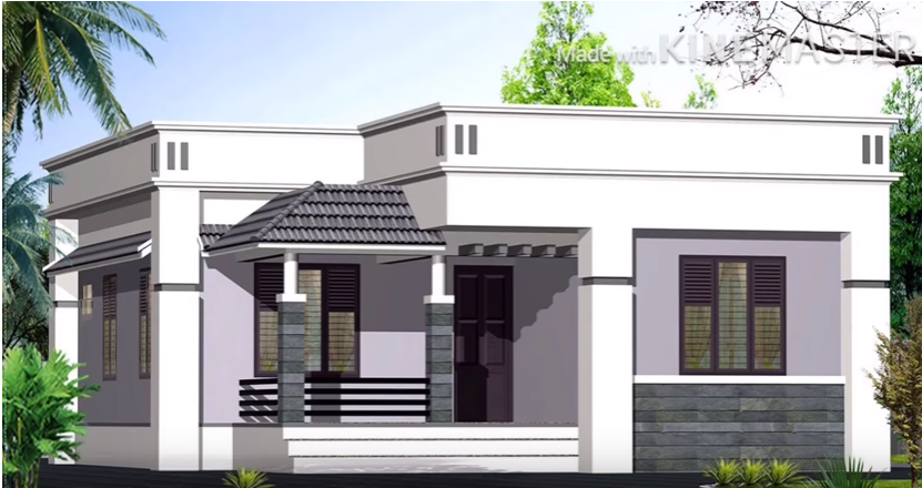 New House Plans In Tamilnadu Traditional Style 4 View In 2020 Kerala House Design Single Floor House Design Home Design Floor Plans